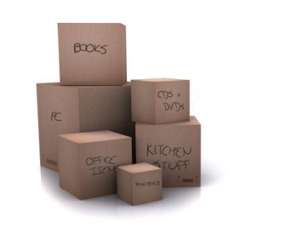 perkraustymo dėžės