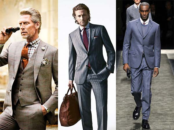 vyriški kostiumai