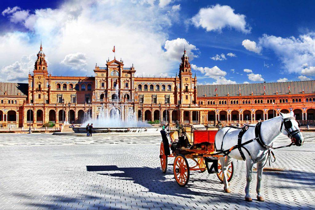 skrydžiai į Ispaniją