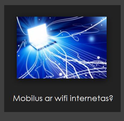 internetas Vilniuje